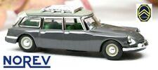 Citroen ID 19 break (1960) gris typhon - NOREV - Echelle 1/87 - Ho