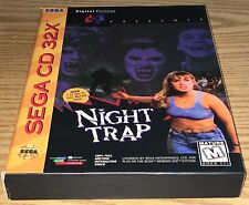 Night Trap Sega CD 32X Complete CIB