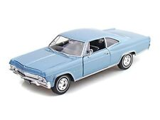 Welly 1965 65 Chevrolet Impala SS 396 diecast model BLUE 1/24 scale 22417