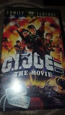GI Joe The Movie Clamshell VHS RARE OOP HTF