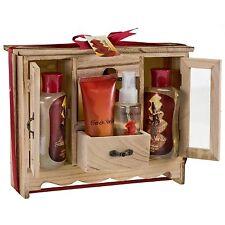 French Vanilla Gift Set Body Mist Body Lotion & More + Free Mini Bath Bombs Gift