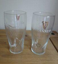 6 GUINNESS GLASSES BNIB