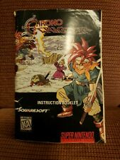 Chrono Trigger (Super Nintendo, SNES) -- Authentic Instruction Manual Only --
