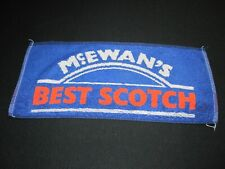 McEwan's Best Scotch Bar towel Vtg ~ 6787
