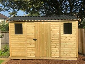 HIGH QUALITY GARDEN SHED/COTTAGES WITH METAL ROOF AND VAPOUR BARRIER