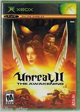 Unreal II: The Awakening (Xbox, 2004) Factory Sealed