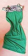 JUST CAVALLI emerald green dress size 42 (UK 10) made in Italy