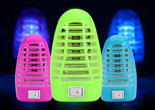 UKDR 1Plug US LED Electric Mosquito Fly Bug Insect Trap Night Lamp Killer Zapper