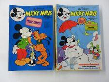 27x Micky Maus Comic Sammlung eingetütet & geboardet (ohne Beilage) Z.1-2