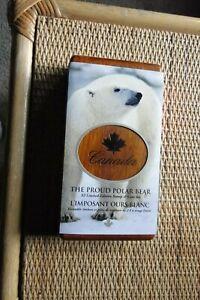 Canada - 2004 $2 Polar Bear Silver Proof Coin + 2/$2 Stamps, Original Case & Box