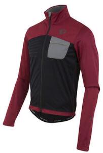 Pearl Izumi Select Escape Softshell Cycling Jacket Tibetan Red/Black, Small