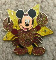 RARE! Disney Pin HKDL Hong Kong 2010 Constellation Zodiac Mickey Cancer Crab