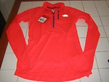 The North Face Women's Impulse Active 1/4 ZIP Rocket Red  Size XS $70.00