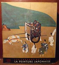 Arte pittura Giappone Skira 1961 in francese Tresors de Asie Peinture Japonaise