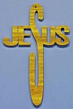 Jesus Christmas Ornament - hand cut
