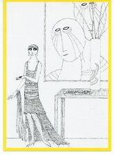 EDWARD GOREY Swann Auction Galleries ad post card [MINT]