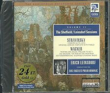 Leinsdorf, Erich Sessions Vol.2 Sheffield 24 Karat Gold CD Neu OVP Sealed OOP