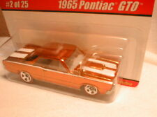 Hotwheels classics series 1  #2 1965 PONTIAC GTO gold   `65 goat