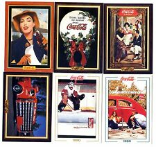 COCA COLA Lot de 6 Cartes NEUVES DIFFERENTES Lot N° CCLA 67