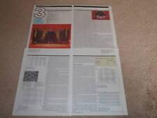 Dynaco Estéreo 70 II Revisión, 1992 , 4 Pgs, Tubo, Completo Tests