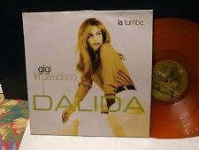 "MAXI 12"" DALIDA La tumba / Gigi in paradisco 5714951 Vinyle orange"