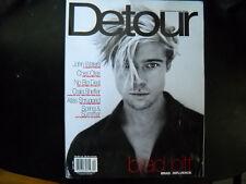 Detour magazine Apr 1997 Brad Pitt, Ben Affleck, Cheri Oteri, John Waters
