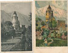 4 Karten aus Hall in Tirol   6/2/15