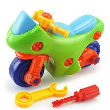 Kid Baby DIY Disassembly Motorcycle  Intellectual Educational Toys Gift NG hot