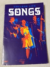 COLLEGE LIFE SONGS Campus Crusade for Christ Songbook w 1968 Youth Conference DJ