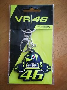 Official Valentino Rossi VR46 Cupolino Keyring - Brand new in packaging