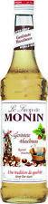 3er Pack MONIN Sirup geröstete Haselnuss 0 7l