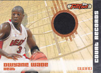 2006-07 Topps Full Court Court Records Relics #CR2 Dwyane Wade Jersey #/499