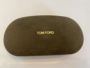 Tom Ford Sunglass Case & Eyeglass/ Cleanning Cloth With The Box