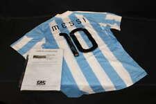 LIONEL MESSI SIGNED ADIDAS ARGENTINA JERSEY CAS COA JSY719