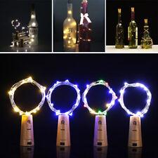 Copper Light Chain LED String Lights Lamp Home Wedding Valentine Festival Decor