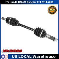 Rear Wheel Shaft Axle for Honda TRX 420 ES Rancher 420 2007 2008 2009 2010 11-17