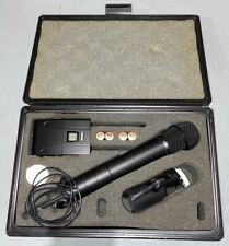 New ListingShure Sm87 Microphone, batteries, case, And other Accessories