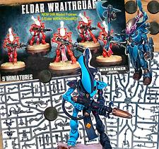 New GW~5 ELDAR WRAITHGUARD~WRAITHBLADES~CRAFTWORLDS=Games Workshop WARHAMMER 40K