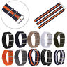 Universal  Nylon Weaving Loop Watch Strap Band Heavy Duty 18 20 22 mm-