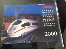 MARKLIN : CATALOGUE MODELS EXPORT 2000