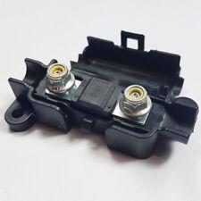 2 x 150 Amp Midi Fusibile Nero + MIDI/striscia di collegamento scatola portafusibili AUTO 150 A