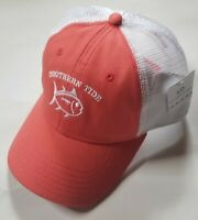 Southern Tide Skipjack Twill Trucker Snapback Hat - Charleston Red - One size