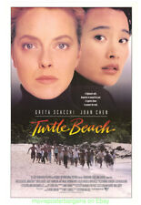 TURTLE BEACH MOVIE POSTER 27x41 GRETA SCACCHI JOAN CHEN