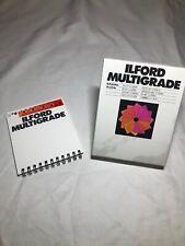 "Ilford Multigrade Filter Set 3 1/2"" x 3 1/2"" 11 Filters Total Missing # 2!"