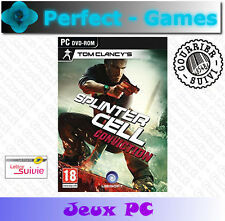 SPLINTER CELL CONVICTION UBISOFT PC DVD Games jeux PC neuf new sous blister