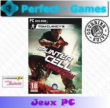 SPLINTER CELL CONVICTION UBISOFT PC DVD Games jeux PC neuf new sous blister