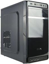 VIVO Micro ATX Mini Tower Computer Gaming PC Case Black / 3 Fan Mounts, USB 3.0