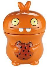 SÄCK & NOLTE UGLYDOLL Keksdose Cookie Jar BABO orange Höhe ca. 24 cm - 02046