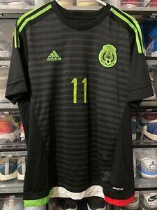 Adidas Mexico Carlos Vela Home Jersey shirt 2015  Shirt  sz L mint