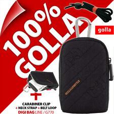 New Golla Universal Compact Digital Camera Case Bag Black for Fuji Sony Samsung